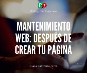 mantenimieto web