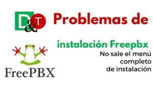 freepbxProblem